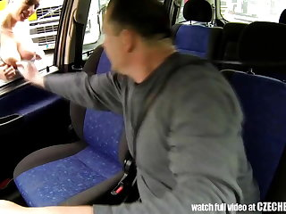 CZECH Strumpet - Real WHORE Get Paid for Sex drifting Trucks