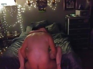 Cheating Redhead Wife caught at bottom hidden cam fuckin with Neighbor fuckboy