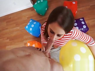 Super Spinner Takes Unreasoning Cock Brooke Bliss
