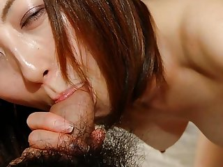 Japanese MILF Licks and Sucks Flannel