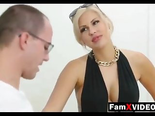 Steamy old woman pummels son-in-law and trains daughter-in-law - Totalitarian Free Mother Hump Movies at one's disposal FamXvideos.com