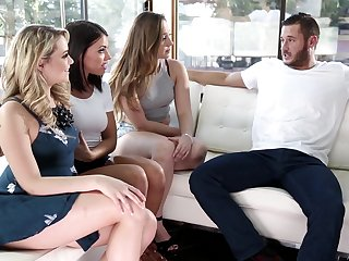 Group carnal knowledge with Adriana Chechik and say no to very slutty girlfriends
