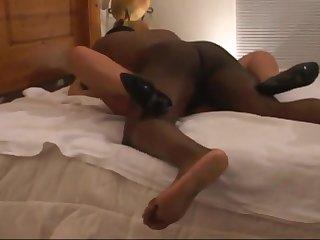 Horny xxx clip Interracial greatest , await it