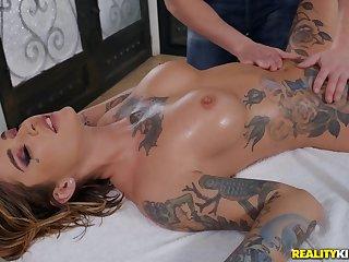 Astounding Kleio Valentien in crazy kneading porn scenes