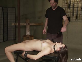 Torture together with BDSM are the secret fantasies be advantageous to fated shadowy Madeline Blue