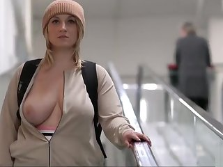 nice busty bazaar girl gets unvarnished in bring out