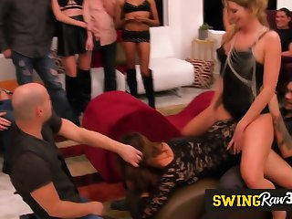 Swingers dote on more have their couples asse