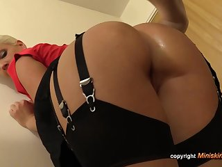 Rectal fuck-fest enjoying assistant is frequently doing it with will not hear of manager, while his wifey is spry