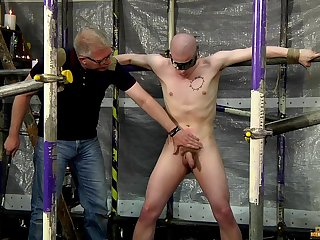 Cock and tea dance torture with kinky gay lovers Sebastian Kane and Oliver Wyatt