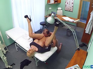 Nude amateur porn with a horny doctor and a mature skirt