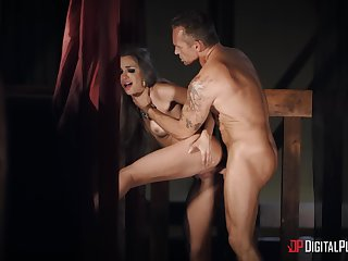 A glorious hardcore fuck skit involving grant this whore the best orgasm