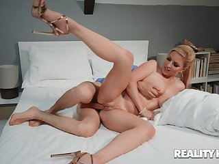 Herculean cock for mommy during her first webcam session