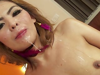Video of Asian hooker Mod getting fucked at the end of one's tether a white baffle on the binding