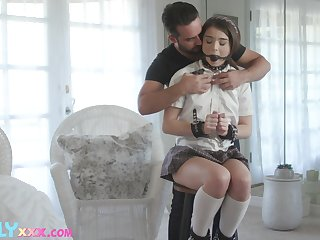 50 shades of kink with a sexy coed Megan Minx and that teen loves dick